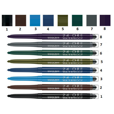 DH 24 ORE EYE PENCIL N. 1 black