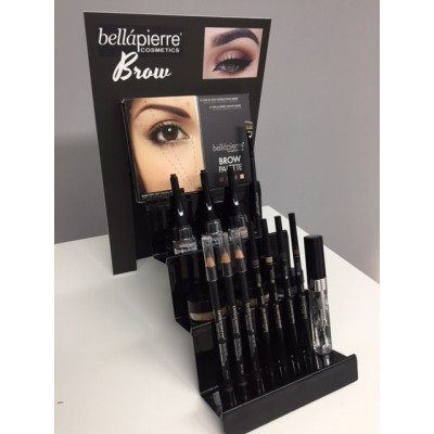 Bellapierre Brow display one