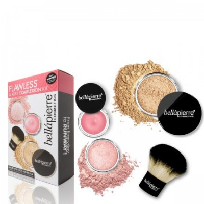Flawless & Rosy Complexion Kit - Medium
